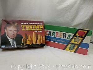 Trump & Careers Board Games