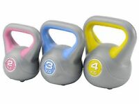 Set of Three Kettlebells