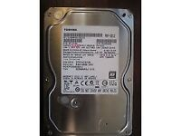 Toshiba 1Tb 1000Gb HDD for desktop PC, SATA