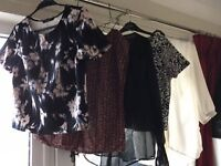Ladies blouses & tops bundle. Suitable for work, or evening wear. All in great condition