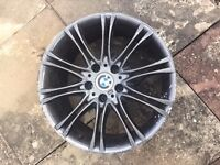 """18"""" BMW WHEEL RIMS, In fairly good condition- contact on 07446919246"""
