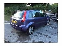 genuine 2002-2009 ford fiesta zetec rear tailgate + rear lights facelift spec (st spec) (purple)