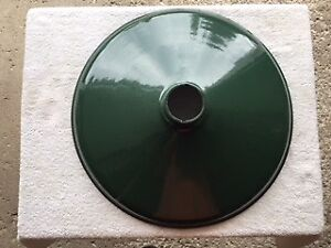 Antique / Vintage/ Old Industrial Green Porcelain Lamp Shades