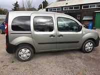 Renault Kangoo wheelchair accessible with restraint system.