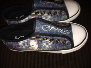 Girls Brand New Ed Hardy Shoes for sale
