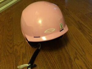 "Pretty Pink ""Upstart"" Ski Helmet"