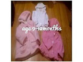 9-12 MONTHS GIRLS COATS