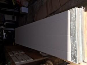 Garage Door 8'x7', White, Sold Pending Pickup