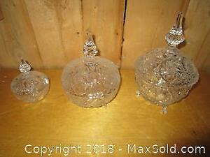 Large Crystal Dishes