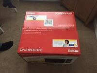 Brand new Daewoo Combination microwave oven with Air Fryer