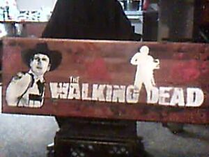 Hobbycraft Painted WALKING DEAD picture