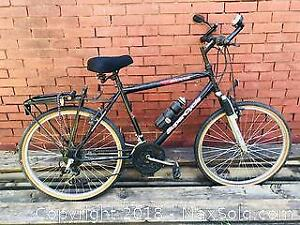 Super Cycle Mountain Bike with Shimano Componentary