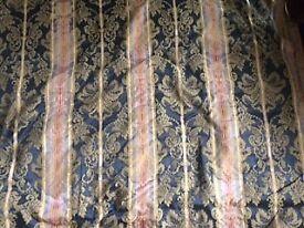 Jacobean upholstery/curtain fabric.
