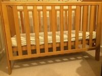 Baby Wooden cot for sale