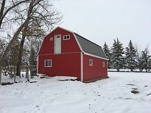 2 story insulated barn