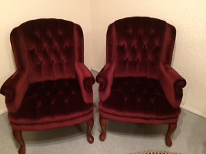 Pair of Occassional Chairs