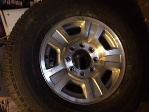 Chev Tires and Rims with Sensors for sale - 265/70R17