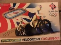 Scalextric Velodrome Team GB cycling set, perfect condition.