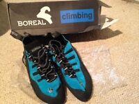 Climbing shoes (Boreal Joker UK 9.5, USA 10.5 EUR 44)