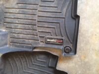 Front and rear weather tech floor mats