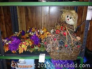Autumn Wreath, Basket and More A