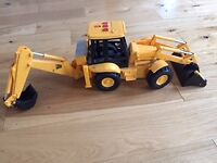 Four Boys Digger Toys in excellent condition