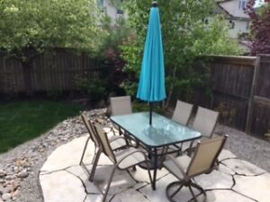 7 Piece Patio Set For Sale