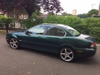 Jaguar X-Type Emerald Fire Metallic***Diesel-Automatic-2.2D Sovereign 4dr automatic***Stunning