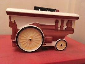 Art Deco Crown Devon Traction Engine