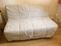 IKEA beige sofa bed LYCKSELE LÖVÅS