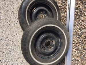 two tire rims-13 inch
