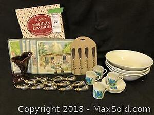 Dining room serving collection. Ironstone Athena serving bowls B