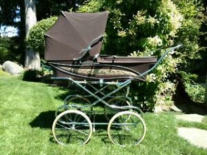 Vintage Silver Cross Baby Carriage Prams