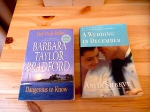 Adult fiction books