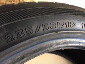 Hankook 235/50R18 winter tires