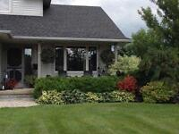 Country living? This is it! Enjoy a relaxing commute to KW!