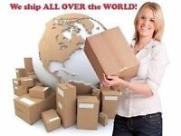 Door To Door AIR SEA ROAD CARGO SMALL PARCEL SHIPPING EXCESS BAGGAGE INDIA PAKISTAN USA £3.50