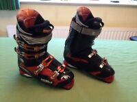 Tecnica Phoenix ski boots and bag in excellent condition.