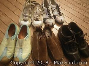 Assortment of size 6 shoes