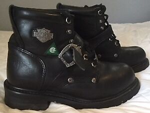Harley Davidson 7.5 size woman's boots