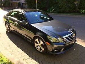 2010 MERCEDES E350 4MATIC - LOW KILOMETERS! PERFECT CONDITION!