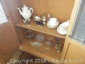 Fine China And Silver plate- A