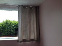 Lined eyelet curtains from Next
