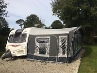 Bailey Unicorn Cadiz 2014 Caravan 4 berth inc 6 month old awning, warranty until March & lots more!