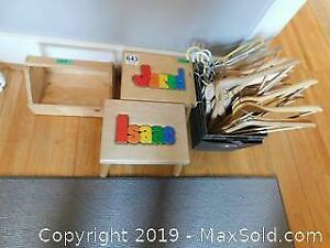 Storage, Footstools And Hangers A