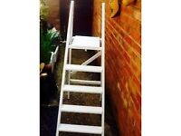 WEDDING PLANNING? RETAIL? VINTAGE STEPLADDERS FOR DISPLAY AT YOUR SHOP OR EVEN YOUR WEDDING