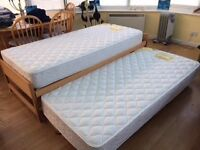 Trundle Bed (Single /bed and pullout bed) and Kids Wardrobe