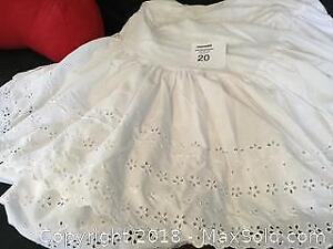 Sheer Swag, Double Eyelet Bed Skirt ,Bed Pillow