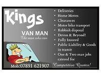 Kings Van Man - You Call we Haul