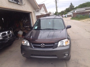 2006 Mazda tribute safetied low kms